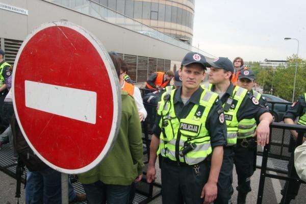 ET komisaras: gėjų eitynėse Vilniuje buvo daugiau policininkų nei dalyvių