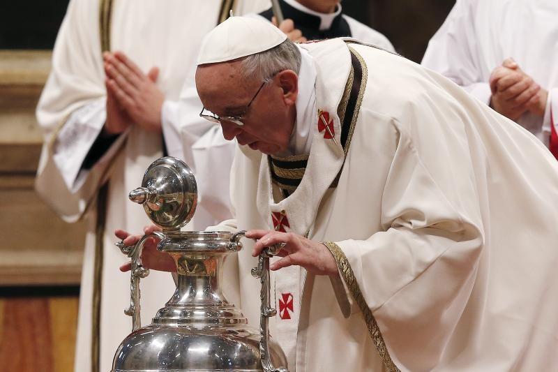 Popiežius ragina paleisti du Sirijoje pagrobtus vyskupus