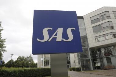 SAS grupė 2009 metais skraidino beveik 25 mln. keleivių