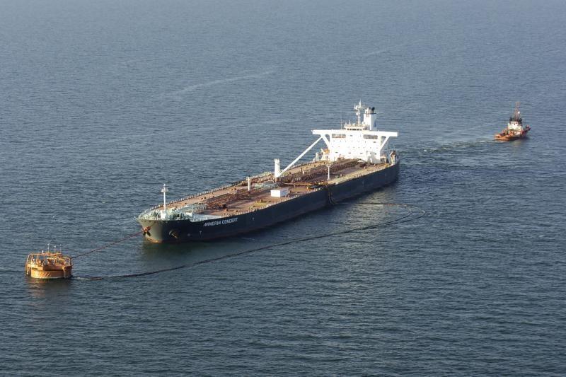 Būtingės naftos terminale aptarnautas 800-asis tanklaivis