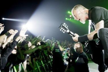 "Vilniuje įvyks antras ""Metallica"" koncertas"