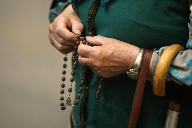 Ukrainoje žmonės rinkosi į masinę maldą už skaidrius rinkimus