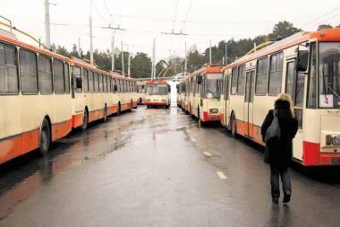 Nuo rugsėjo į Vilniaus gatves nebeišriedės 40 troleibusų