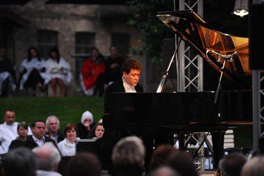 Vienas garsiausių pasaulio pianistų D.Matsujevas koncertavo Vilniuje