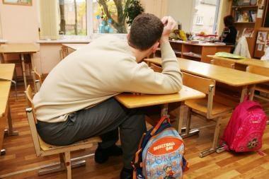 Vilniaus apskrityje per 10 metų moksleivių sumažėjo ketvirtadaliu