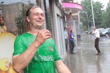 Orai Kaune: penktadienį bus karšta ir saulėta