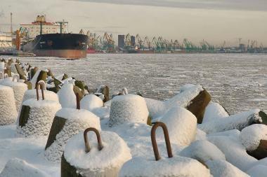 Klaipėdos uoste padvelkė optimizmu