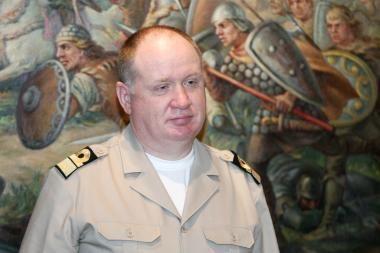 Karinių jūrų pajėgų vadu gali būti paskirtas K.Macijauskas
