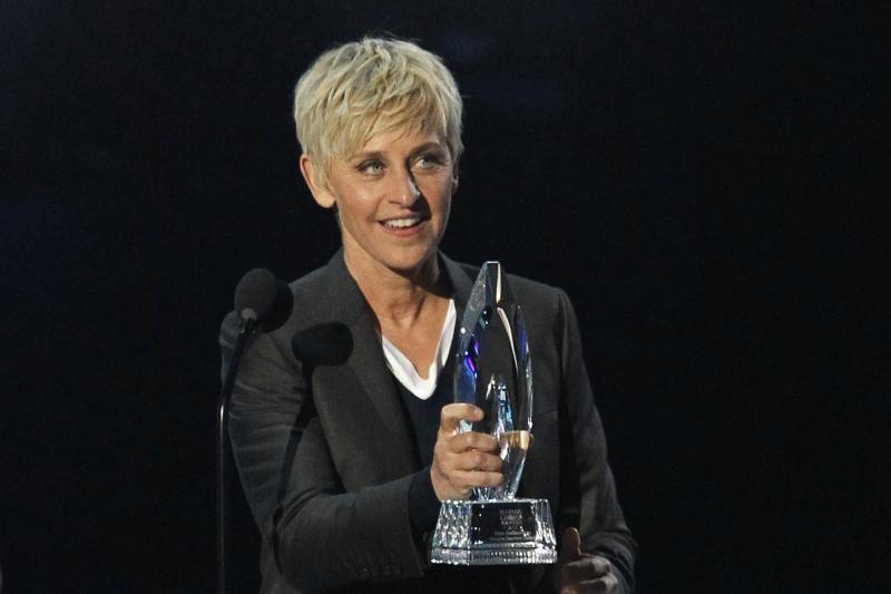 Ellen Degeneres pateko į Holivudo Šlovės alėją