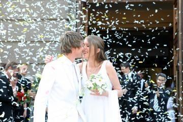 Karūnuota gražuolė susituokė su futbolininku
