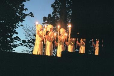 Šaltupio sodyboje - liaudies teatrų festivalis