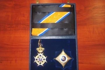 Miesto vadovui – karalienės apdovanojimas