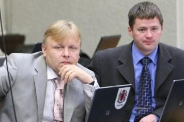 Klaipėdos socialdemokratai atsiribojo nuo V.Titovo ir J.Šeršniovo