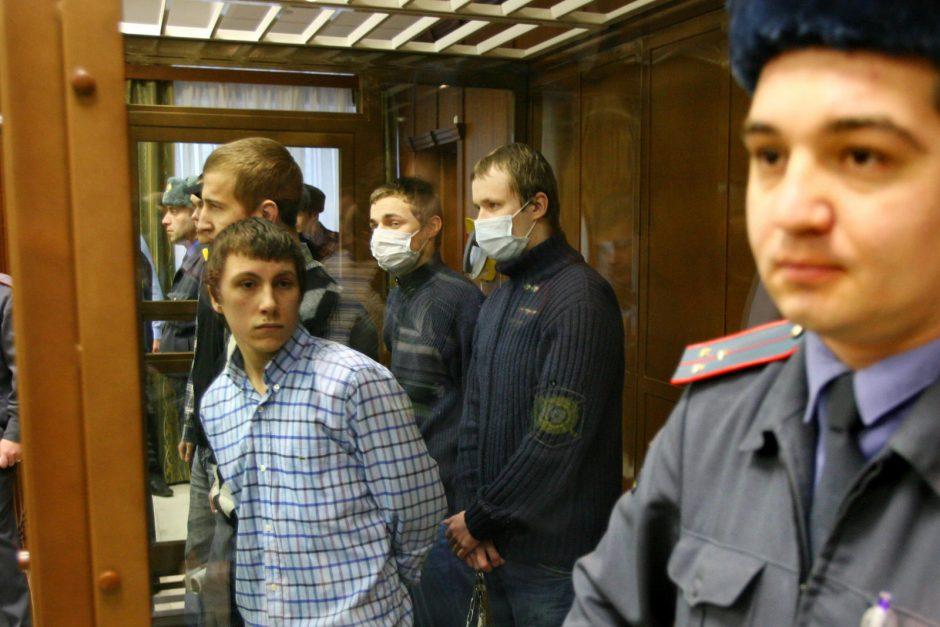 Maskvoje nuteisti žiauriai žudę neonaciai