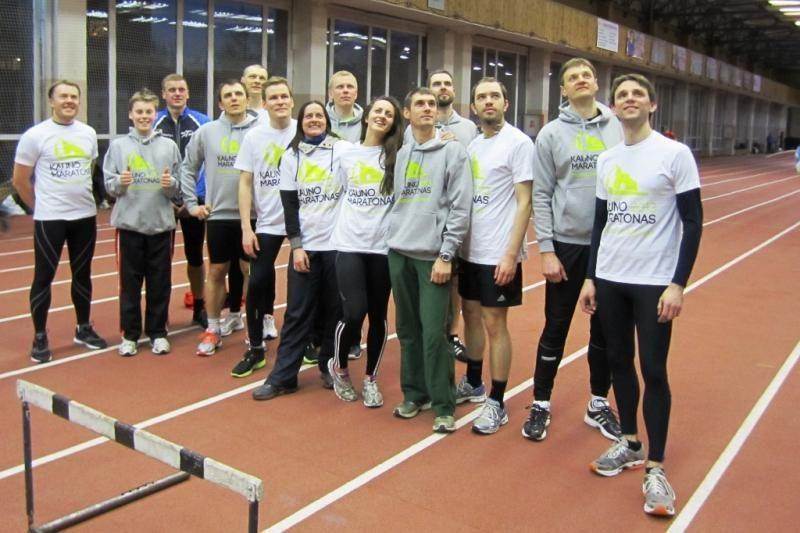 """Kauno maratono"" komanda sieks aukso Jonavoje"
