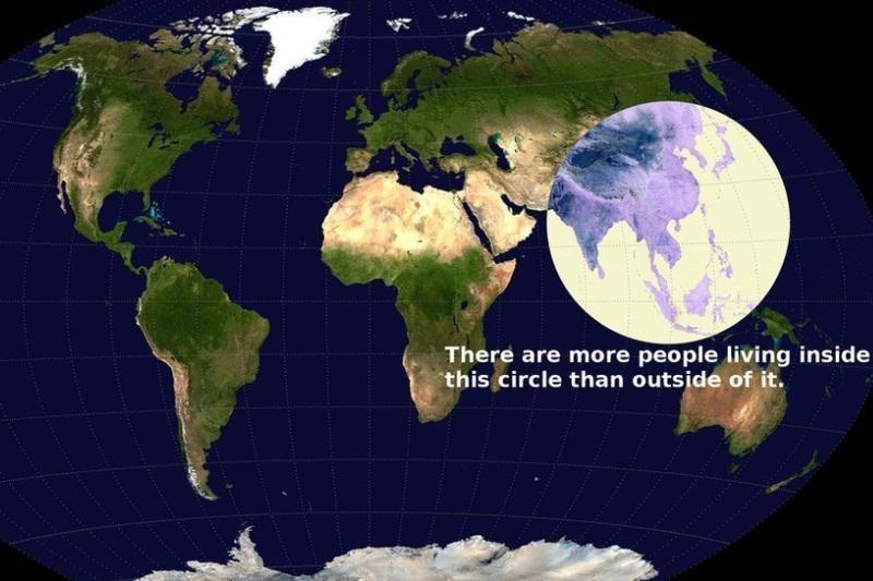 """Azijos """"burbuliuke"""" žmonių gyvena daugiau nei likusioje Žemėje"""