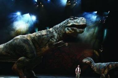 Dinozaurai jau įžengė į Lietuvą ir kviečia susipažinti