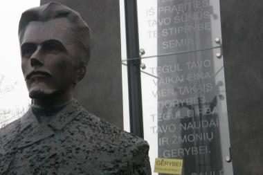Vilniaus savivaldybė padės V.Kudirkos paminklo iniciatoriams sumokėti skolas