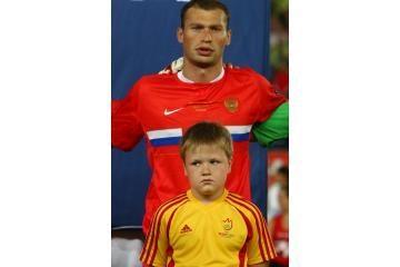 Jaunasis aistruolis lydėjo Rusijos futbolininką