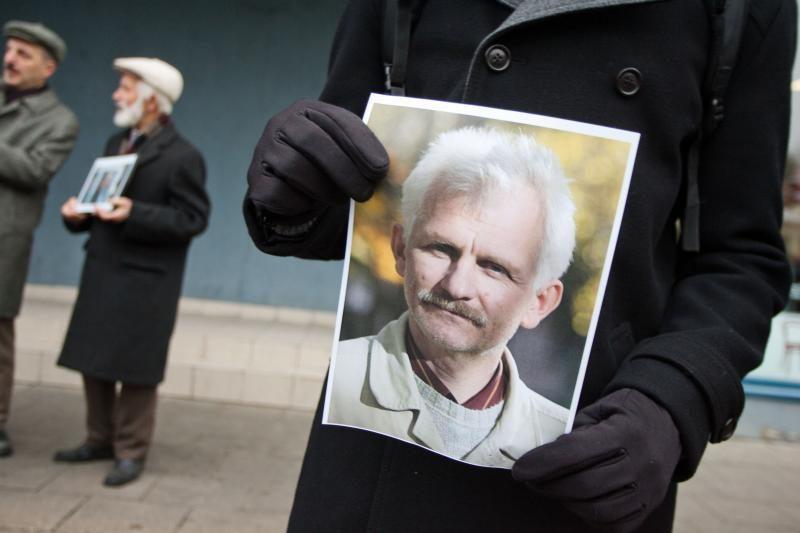 Baltarusijos opozicija prašo paleisti į laisvę teisių gynėją Beliackį