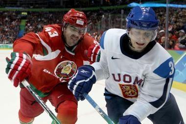 Baltarusijos ledo ritulininkai neatlaikė suomių spaudimo
