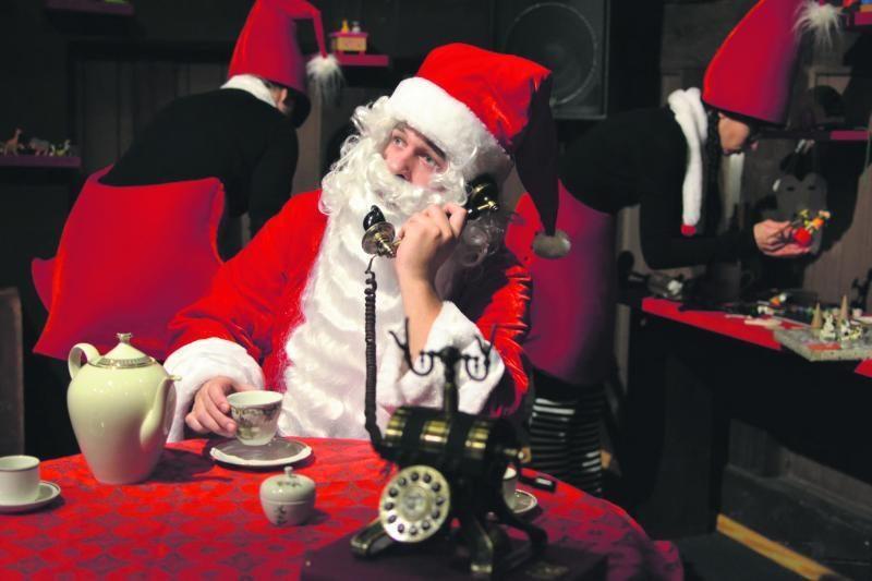 Klaipėdos lėlių teatre duris atvers Kalėdų Senelio namelis