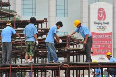 Kinija giriasi sulaikiusi olimpiados sabotuotojus