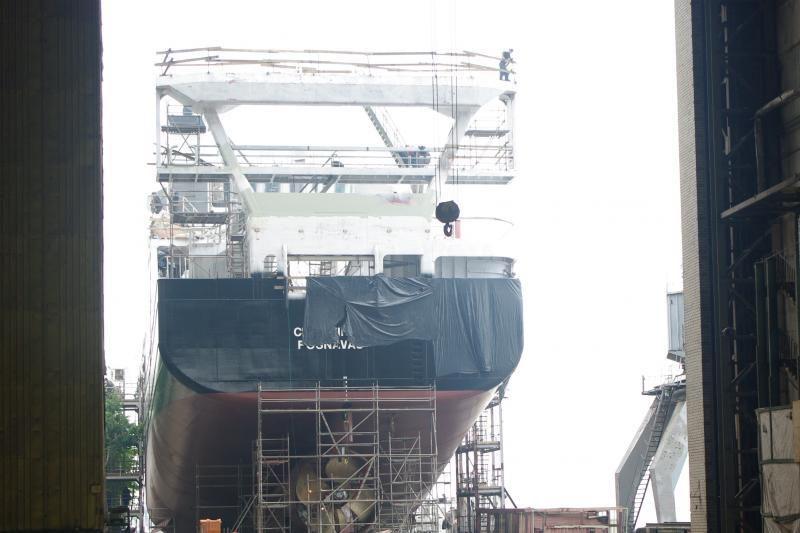 Deficitas: trūksta darbininkų laivams statyti