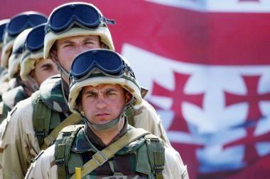 Televizijos reportažas Gruzijoje sukėlė karo paniką
