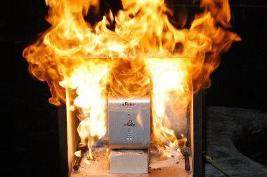 Standusis diskas atlaikė išbandymą ugnimi