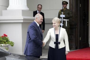 V.Baltraitienė: D.Grybauskaitei nereikėjo prieš rinkimus vykti į Baltarusiją