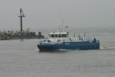 Baltijos jūroje rastos nuskendusio laivo liekanos