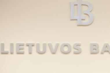 Lietuvos bankui - priekaištas neužtikrinus bankų sistemos stabilumo