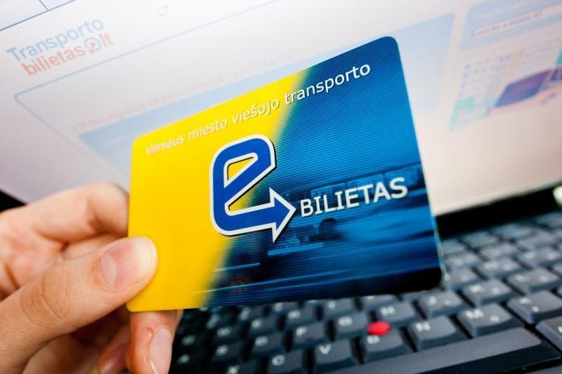 Vilniuje pratęsiamas elektroninių bilietų kortelių galiojimas