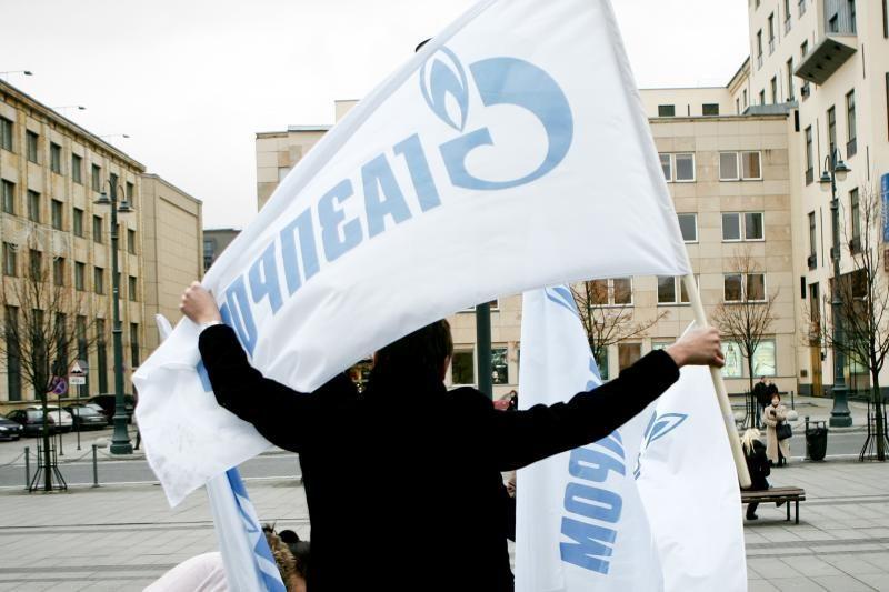 """""""Gazprom"""" dėl pigesnių dujų Lietuvai kelia sąlygų"""