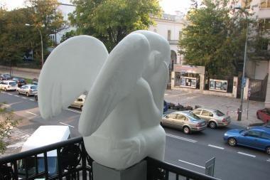 Angelai iš Vilniaus nušvietė Europos miestų padanges