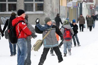 Orai Kaune: bus šalta ir giedra