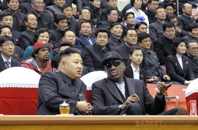 D. Rodmano ir Š. Korėjos diktatoriaus draugystė traukiama per dantį