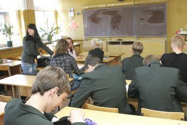 Ar apšvietimas mokyklose pakankamai geras?