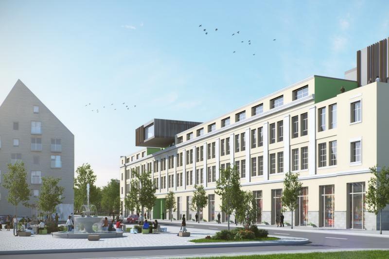 Apleistoje gamyklos teritorijoje išdygs naujas kvartalas