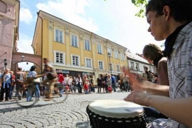Gatvės muzikos diena eismo Vilniuje nestabdys