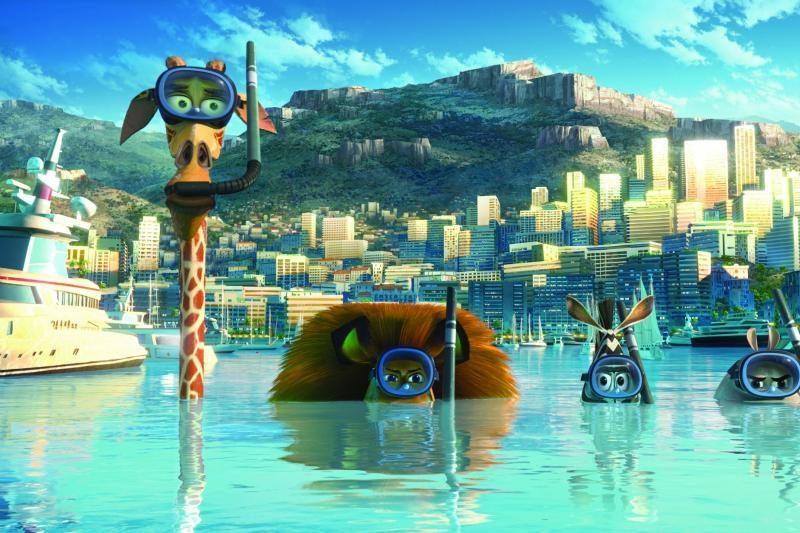 """Filmo """"Madagaskaras 3"""" premjera – Kanų kino festivalyje"""
