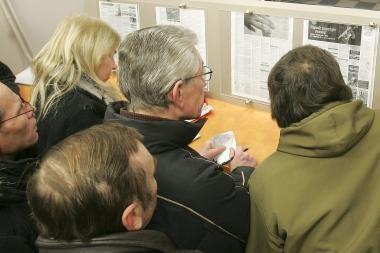 Nedarbas Lietuvoje siekia beveik 14 proc.