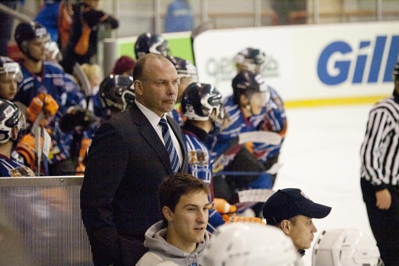 "HC ""Baltica"" treneris: gauname per daug baudos minučių"