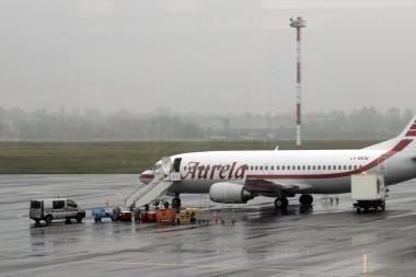 Nagrinės situaciją oro transporto sektoriuje