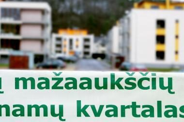 Kaune naujos statybos butai atpigo 7 procentais