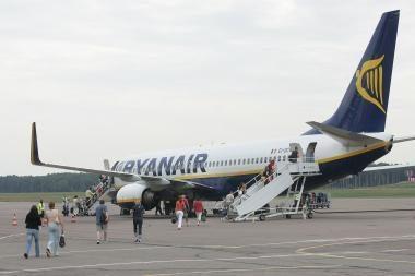 Vilniuje nusileido Kaune nenutūpęs lėktuvas