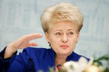 D.Grybauskaitė: užsienio reikalų ministras mane