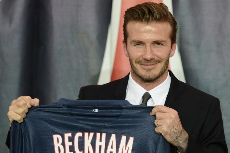 """D. Beckhamas """"Saint-Germain"""" gretose debiutuos jau už savaitės"""