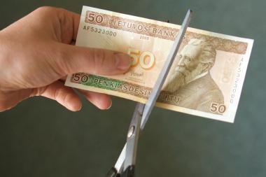 Harvardo ekonomistas: Lietuva turės karpyti biudžetą